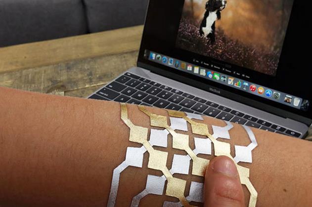 MIT与微软联手打造DuoSkin纹身 未来或可进行NFC支付