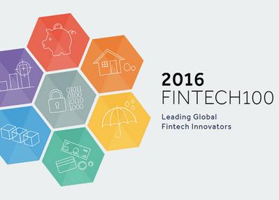 涉及17个国家、11个行业 毕马威发布2016Fintech全球百强榜单