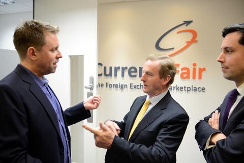 P2P 货币兑换服务供应商 CurrencyFair 获 800 万欧元融资