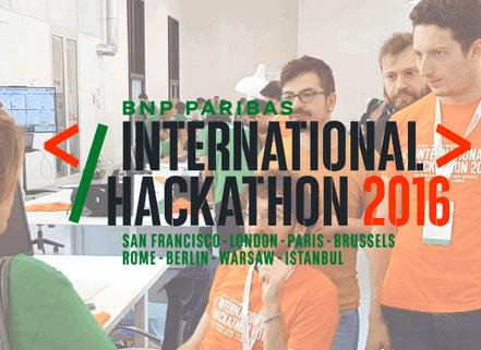 法国巴黎银行2016Fintech国际编程马拉松比赛落幕 9个参赛组最终胜出