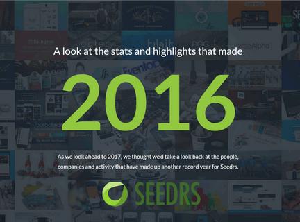 英国股权众筹平台Seedrs2016运营报告:4.5万笔投资、总额8500万英镑、65个国家投资者