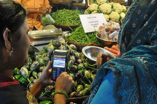 """印度推出国家支付二维码 强化""""无现金支付"""""""