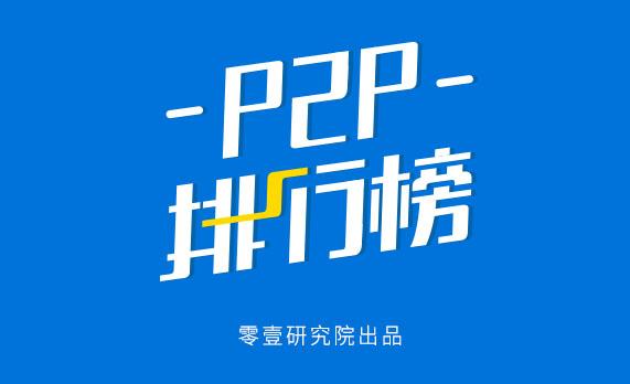 2月份中国P2P平台贷款余额百强榜