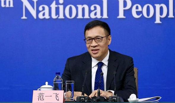 范一飞:中国央行数字货币应采用双层投放体系